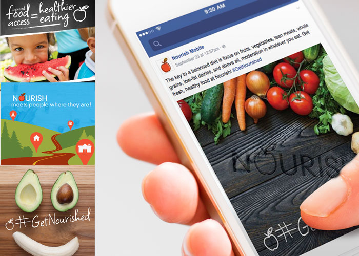 Nourish Mobile Market Social Media Marketing